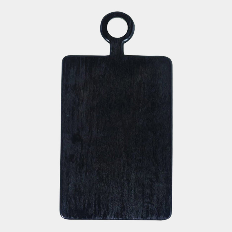 Small Black Serving Board Rectangle