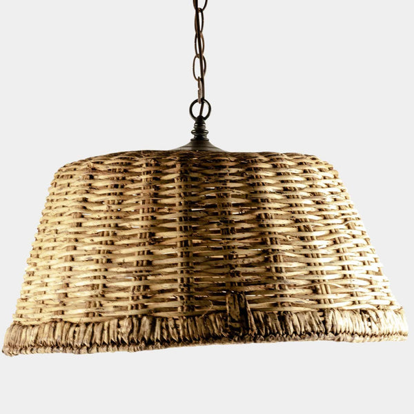 Wicker Basket Pendant