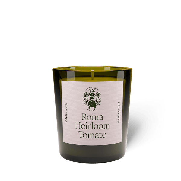 Roma Heirloom Tomato Candle