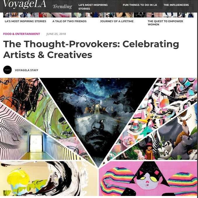 JUNE 25, 2018The Thought-Provokers: Celebrating Artists & Creatives