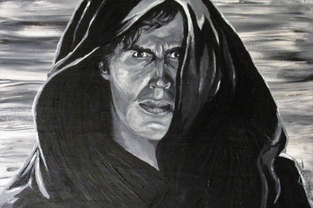 Star Wars Original Painting Anakin Skywalker