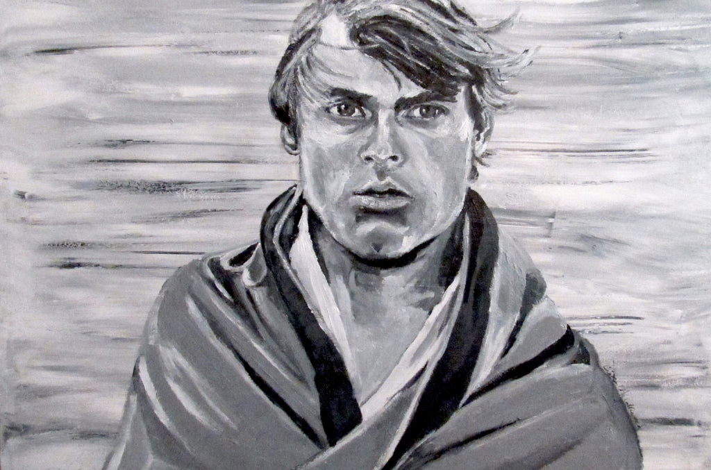 Star Wars Original Painting  Luke Skywalker
