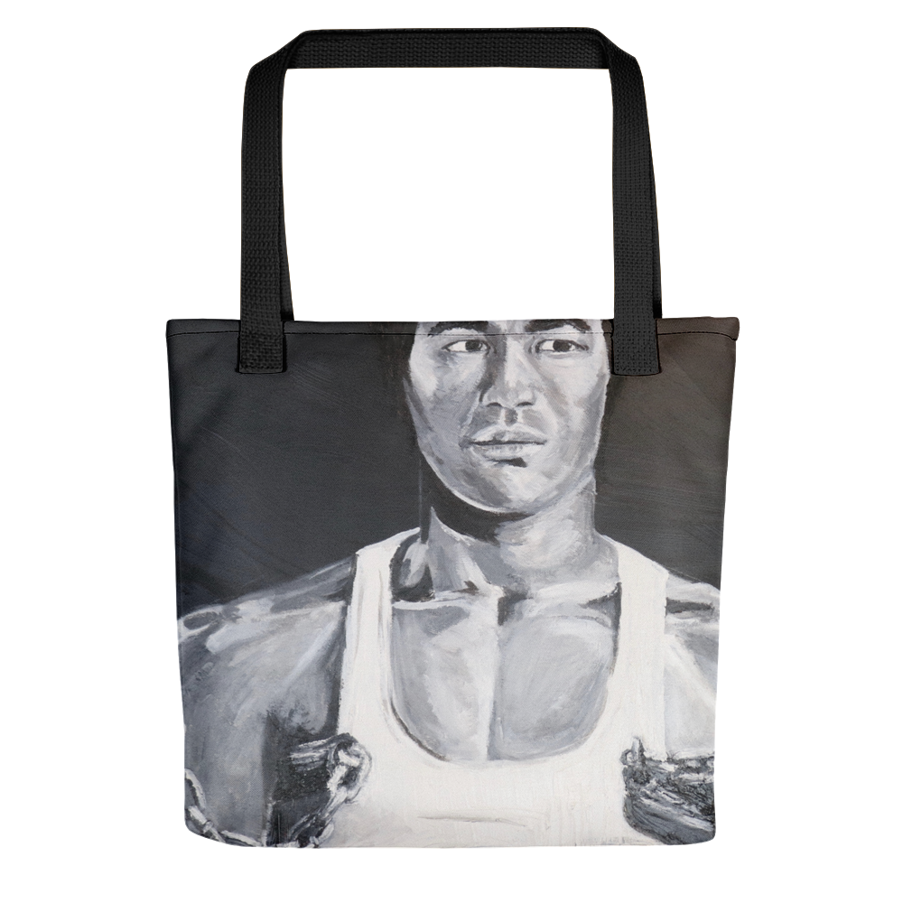 Bruce Lee Icons of the 70's Tote bag