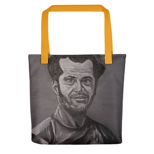 Jack Nicholson Icons of the 70's Tote bag