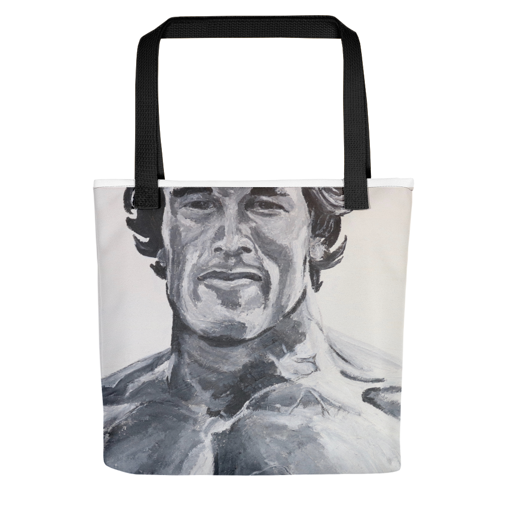 Arnold Schwarzenegger Icons of the 70's Tote Bag