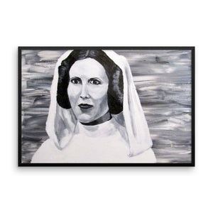 3 of 3 Skywalkers Framed Poster Leia