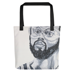 Kareem Abdul Jabbar Icons of the 70's Tote bag