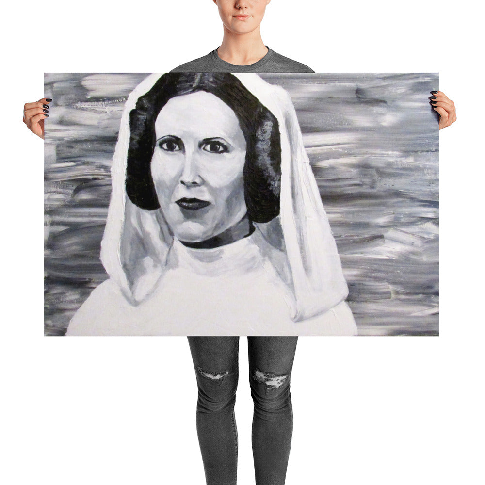 3 of 3 Skywalkers Poster Leia