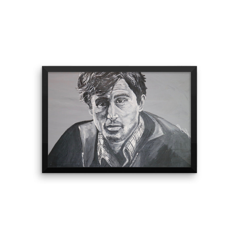 Robert DeNiro Icons of the 70's Framed photo paper poster