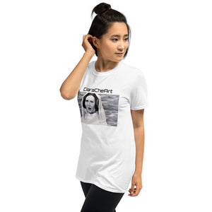 Princess Leia CiaraCheArt Short-Sleeve Unisex T-Shirt