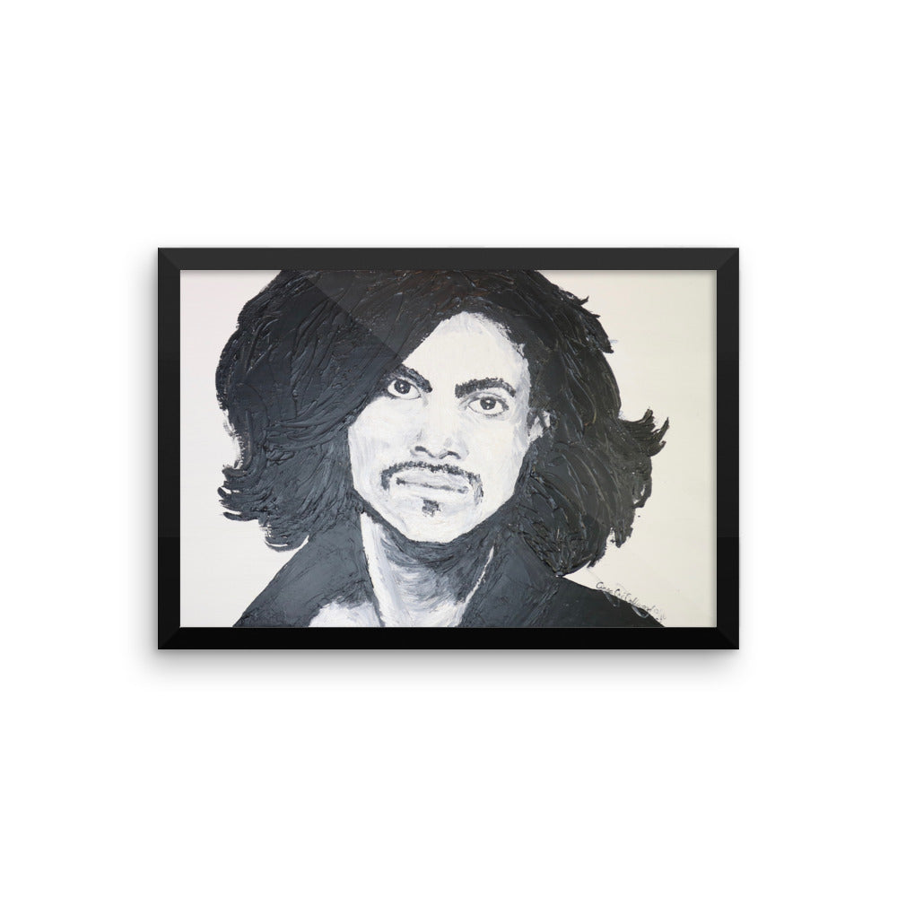 Prince Icon's of the 70's Framed photo paper poster