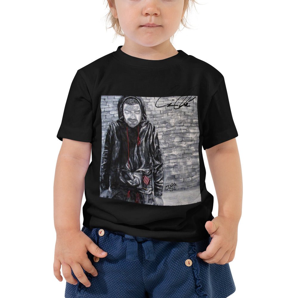PistolPope CiaraChe Toddler Short Sleeve Tee
