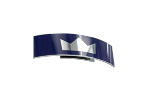Crown Silver and Navy