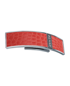 Crocodile Leather Red