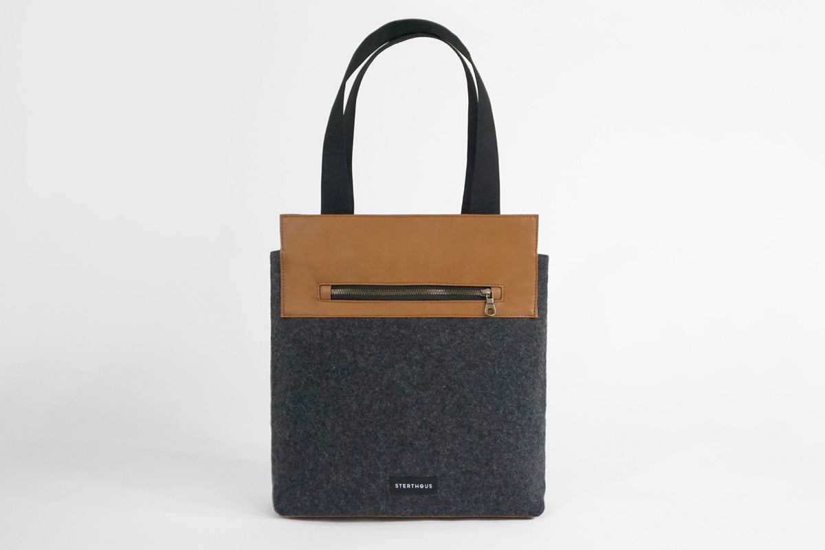 WOOL TOTE SAMPLE