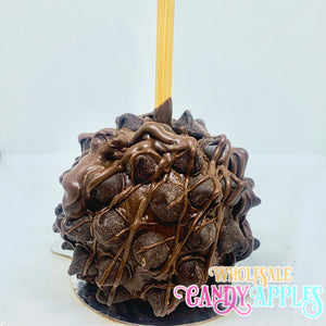 Mini Caramel Apple With Chocolate Chips