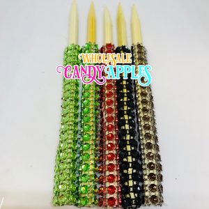 Gold Pearlized Candy Apple