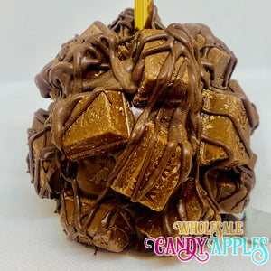 Mini Caramel Apple With Chocolate Kit Kat