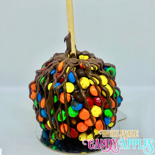Mini Caramel Apple With Mini M&M