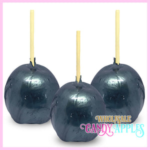 Blue Pearlized Candy Apple