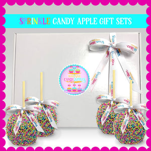 Sprinkle Candy Apple Gift Pack
