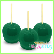 Green Plain Candy Apples