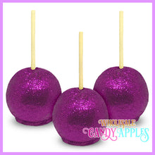 Lavender Chocolate Glitter Apples