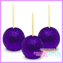 purple glitter candy apples wholesale