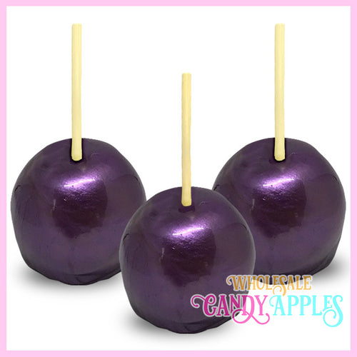 Purple Pearlized Candy Apple