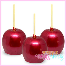 Red Pearlized Candy Apple