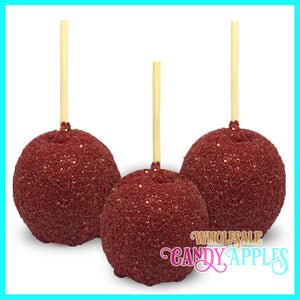 Red Sugar Crystal Candy Apples