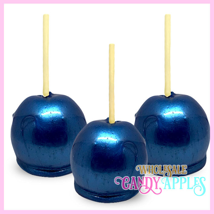 Royal Blue Pearlized Candy Apple