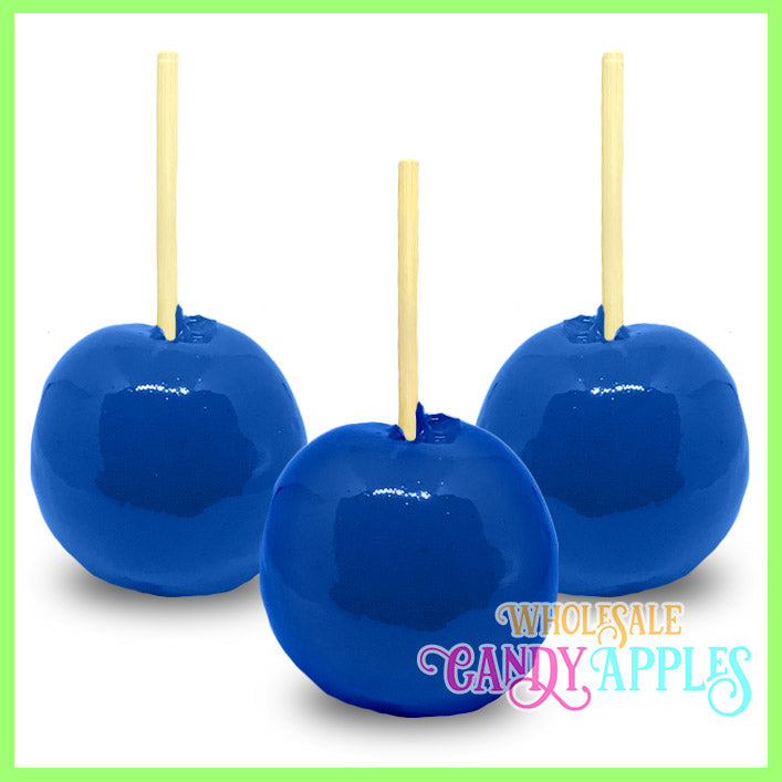 Royal Blue Candy Apples