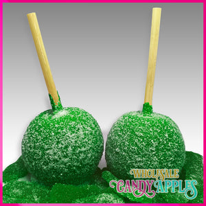 Green Apple Sweet & Sour Candy Apple