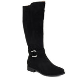 Comfort by Brinley Co. Womens Extra Wide Calf Classic Riding Boot