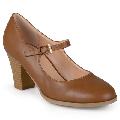 63448dcec8d Womens Mary Jane Classic Pumps Brinley Co. Womens Mary Jane Classic Pumps