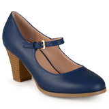 Brinley Co. Womens Mary Jane Classic Pumps