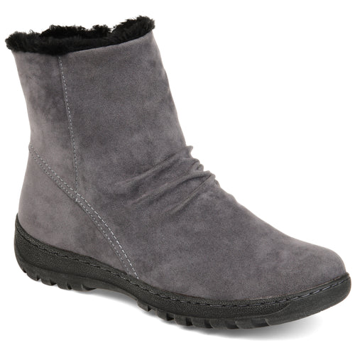 Brinley Co. Womens Slouch Tread Sole Winter Boot