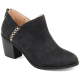Brinley Co. Womens Comfort Side Stitch Ankle Bootie