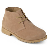 Brinley Kids Little Boy Faux Suede Lace-up Chukka Boots