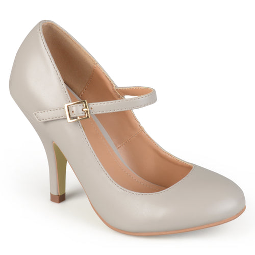 Brinley Co. Womens Mary Jane Matte Finish Pumps