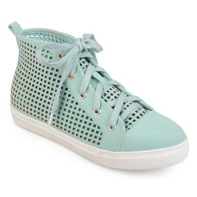 Brinley Co. Womens High Top Sneaker