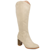 Comfort by Brinley Co. Womens Microsuede Mid-calf Boot