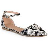 Brinley Co. Womens Almond Toe Flats