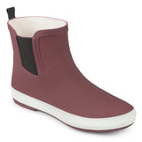 Brinley Co. Womens Samar Rubber Sporty Solid Color Rainboots