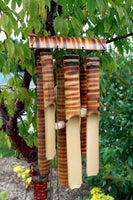Bamboo Chimes 6 Tube Large