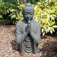 Praying Buddha in Green - 70cm