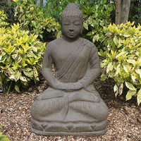 Meditating Buddha in Chocolate - 80cm