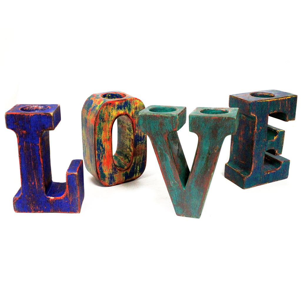 Big Letters - LOVE - Multicolour