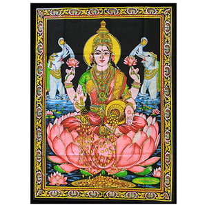 Indian Wall Art Print - Laxmi